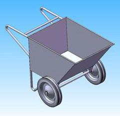Тележка - рикша