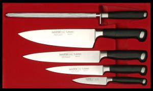 Набор из 4 ножей Burgvogel Solingen  серии Master Line с мусатом 9500.95