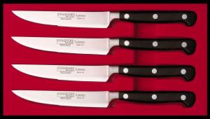 Набор из 4-х ножей Burgvogel Solingen серии Comfort Line для стейков 9610.91